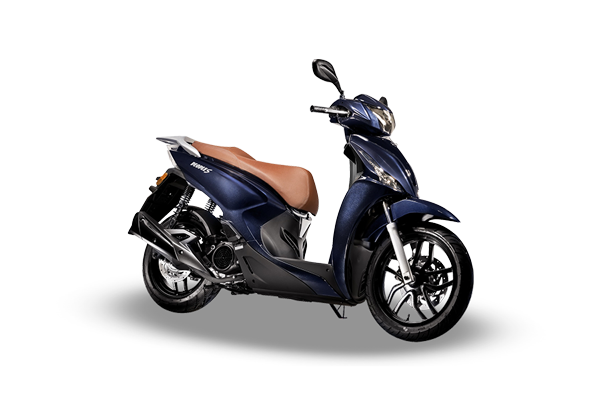 abba rentals scooter hire corfu kymco people 125 blue